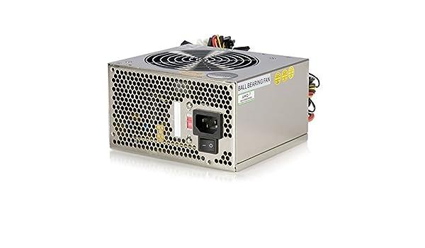 StarTech.com 400 Watt Silent ATX 12V 2.01 PC Computer Power Supply ATX2POW400HS