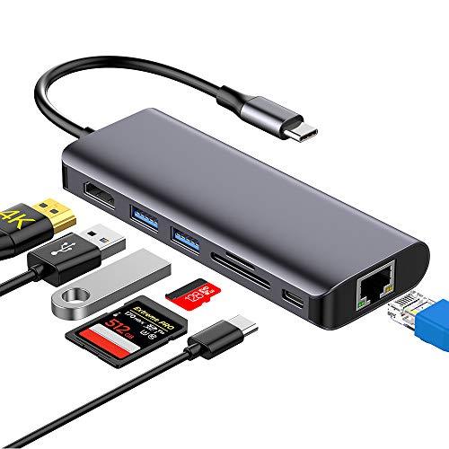 Hotott Hub USB C 7 en 1
