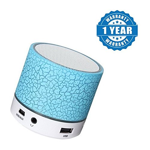 Drumstone Portable Mini Bluetooth Wireless LED Bluetooth Speakers Calling Functions & FM Radio Compatible with Xiaomi Mi, Lenovo, Apple, Samsung, Sony, Oppo, Vivo Smartphones (1 Year Warranty)  available at amazon for Rs.249
