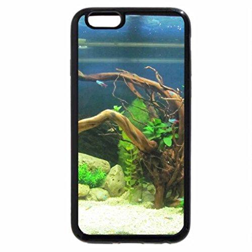 iPhone 3S/iPhone 6étui (Noir) pour Aquarium