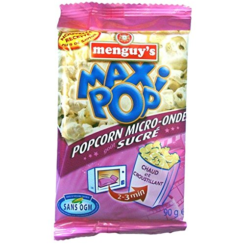 Popcorn micro ondes, goût sucré - ( Prix Unitaire ) - Envoi Rapide Et Soignée