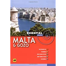 AA Essential Spiral Malta and Gozo (AA Essential Spiral Guides)