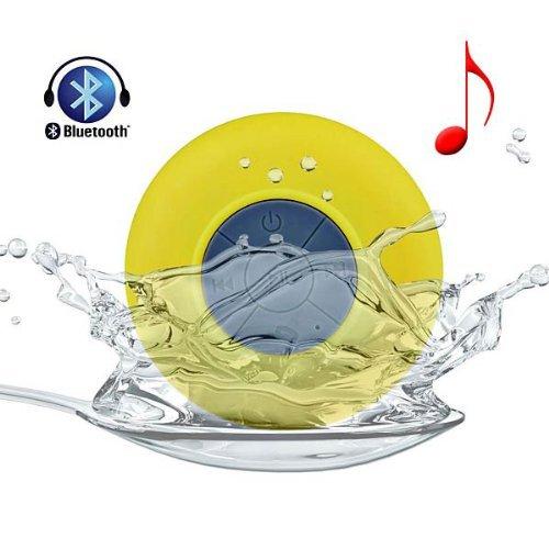 Mini Portable Wasserdichter Drahtloser Bluetooth Lautsprecher 3W mit Mikrofon für Apple iPhone 5 5S iPad iPod Sumsang Galaxy S4 Tablet (Kostüme Ipad Apple)