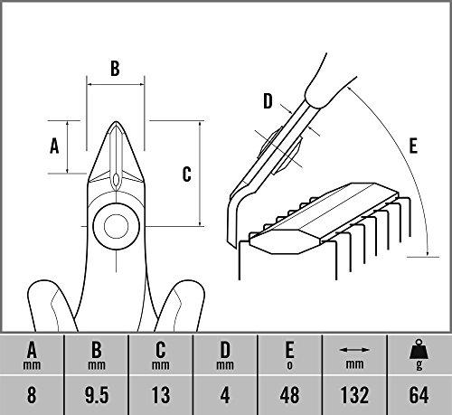 CK-T3884-Pince-coupante-diagonale-tte-miniature-coupe-par-arrire
