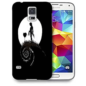 Snoogg Man Heart Designer Protective Back Case Cover For SAMSUNG GALAXY S5