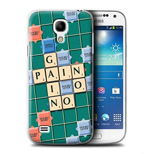Coque de Stuff4 / Coque pour Samsung Galaxy S4 Mini / Aucun Douleur Gain Design / Mots de Scrabble Collection Aucun Douleur Gain