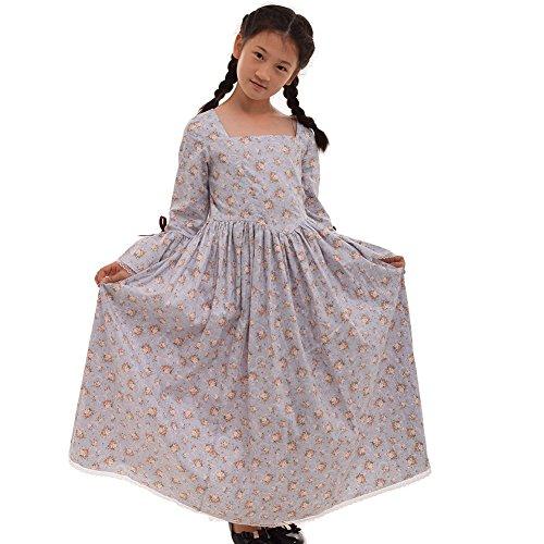 Pionier Mädchen Kostüm (GRACEART Kolonialen Pionier Mädchen Kostüm (US-08,)