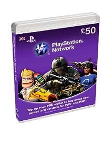 PlayStation Network Card - £50 (PlayStation Vita/PS3)