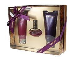 Idea Regalo - Monsoon, Set da regalo per donna, incl. Eau de Toilette (30 ml), Crema corpo (100 ml) e Bagnoschiuma (100 ml)
