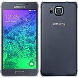Samsung Galaxy Alpha- Freies Vodafone-Smartphone, Display 4,7Zoll (11,93 cm), 32GB, 12MP Kamera, WI-Fi, GPS, Schwarz.