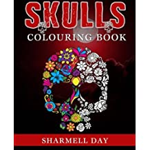 Skulls: Colouring Book by Sharmell Day (2015-12-07)