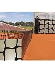 Red de tenis competición con cinta perimetral