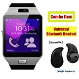 #10: SW Bluetooth Smart Watch Phone With Camera and Sim Card Support