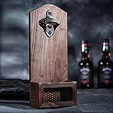 Arola Flaschenöffner & Kronkorkenauffangbehälter und Wand Flaschenöffner Flasche Öffner Bar Bier Küche Werkzeug Bieröffner lustiges Geschenk für Männer -