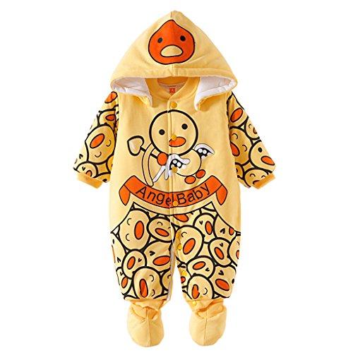 Bambino-Ragazze-Ragazzi-pagliaccetto-Neonato-addensare-Snowsuit-Autunno-inverno-infantile-tute-attrezzatura-3-mesi-Vine