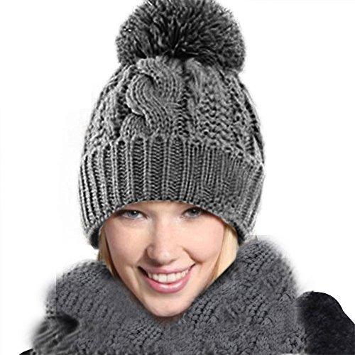 VRTUR VRTUR Warme Baumwolle 1 Satz Warm Wolle Stricken Kapuze Schal Kappen Hüte Passen