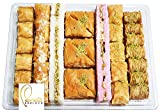 Persis Luxury Baklava Assorted Tray - 42 Pieces (1kg)