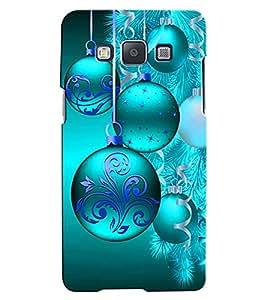Citydreamz Hanging Decoration/Blue Color/Bells/Ribbons/Celebration/Festivals Hard Polycarbonate Designer Back Case Cover For Samsung Galaxy On5