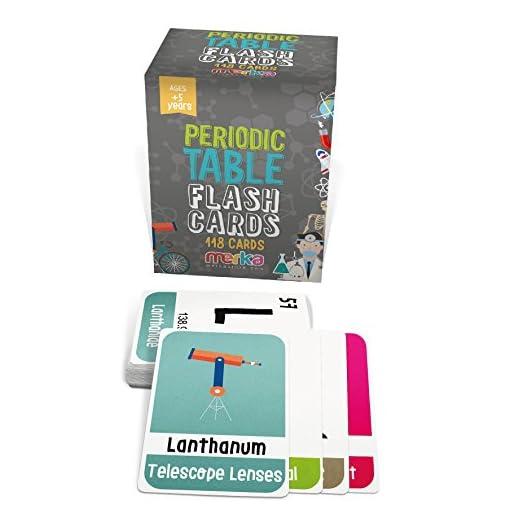 merka-Periodensystem-der-Elemente-Lernkarten–118-Flashcard-mit-schnen-Bildern-die-jedes-Chemieelement-darstellen–Lernspiel-fr-Kinder