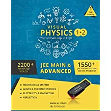 Nlytn Visual Physics I + II for IIT JEE - Advanced Animated Video Course (Pendrive) - Covers complete XI, Electricity & Magnetism