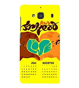 For Xiaomi Redmi Note 2 :: Redmi Note 2 Prime love symble ( love symble, love, symble, good quotes ) Printed Designer Back Case Cover By CHAPLOOS