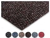 Primaflor - Ideen in Textil Sauberlauf PICOLLO Braun 1,00m x 3,00m Rutschfester Teppichläufer Schmutzfangläufer, Schmutzfangteppich, Küchenläufer