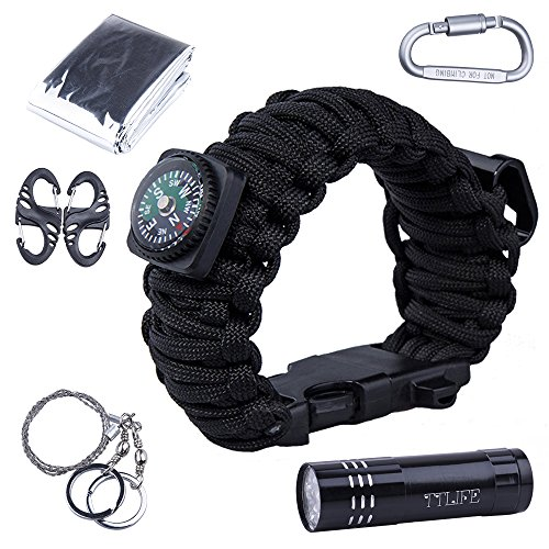 ttlife-superb-multi-12-uses-survival-kit-paracord-bracelet-with-compass-bottle-opener-whistle-fire-s