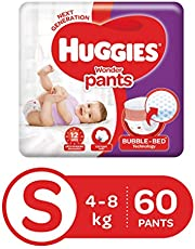 Huggies Wonder Pants Small Size Diapers (60 Count)