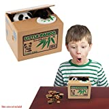 Toy Cubby Electronic Panda Stealing Coins Savings Box Kids Money Savings Box