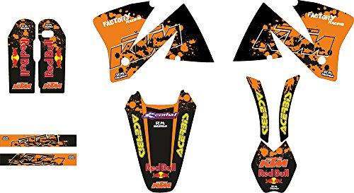 KTM EXC 2001_ URX Moto-X MX adhesivo Kit (Non Oem)
