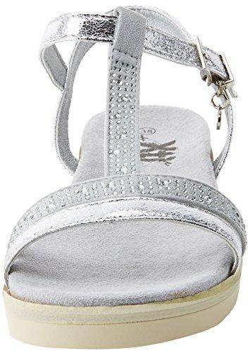 Sandali Con Cinturini Alla Caviglia Xti Ladies 47663 Argento (platino)