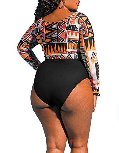 ByBetty Costume Da Bagno Intero Per Donna Costume Da Bagno Diviso Costume Da Bagno Bikini Mix 2