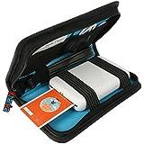 Khanka Travel Carrying Storage Case Bag for Polaroid ZIP Mobile Photo Printer ZINK Zero Ink Printing - Black