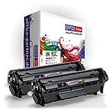 2x OFFICE-Partner Premium Toner kompatibel zu Canon FX-10 schwarz für Canon I Sensys MF4350D MF4330D MF4370DN MF4010 MF4120 MF4140 MF4150 MF4270 MF4320D MF4340D MF4380DN MF4660PL MF4690PL