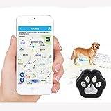 3G Pet GPS Tracker Schlüsselfinder Locator an Kragen, turnmeon® Locate Hund Katze in Echtzeit Tracking Tiere Aktivitäten mit WiFi Zaun Wasserdicht Rolling LED-Lichter App für Smartphone - 4
