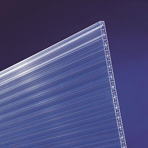 scobalit X-ar dual X Polycarbonat Hohlkammerplatten klar L 4000mm B 980mm 16mm