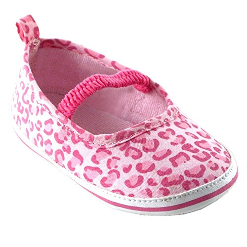 Luvable Friends , Baby Mädchen Krabbelschuhe & Puschen pink Pink Leopard 6-12 Monate Pink Leopard