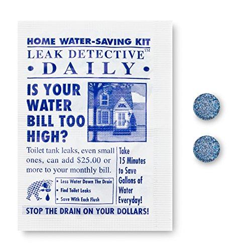 PF WaterWorks PF0553 LeakDETECT Toilettentank Flapper Leckerkennungstabletten, Blau (Duschkopf Pfister)