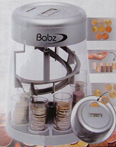 Automatisch Münze Gegenmutter & Sortierer, LCD Digitalanzeige, UK Geld Wechsel Münzen Maschine, Brandneu Lcd-digitalanzeige