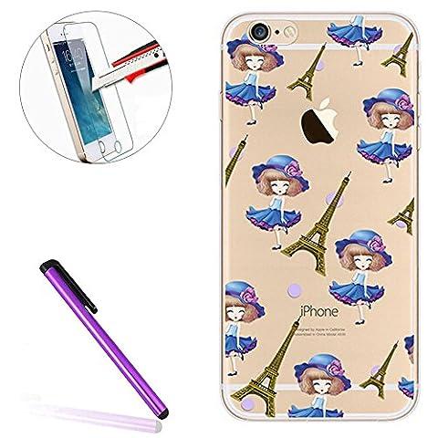 iPhone SE Silicone Coque,iPhone SE Coque Transparente,iPhone SE Coque Antichoc,iPhone