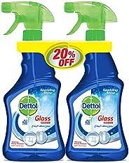 منظف الزجاج من ديتول – عبوة مزدوجة مع خصم 20%