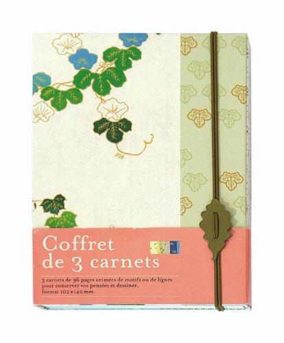 Coffret 3 carnets A6 Japon