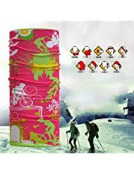 Rare Casque multifonctionnel Seamless Magic Scarf Headbands Windproof Dry rapide Soft and Comfortable 10 Pcs