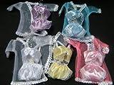 Fat-Catz - Unterwäsche Set für Barbie Sindy Puppen 3 Stück Unterhose Morgenmantel zufällige...
