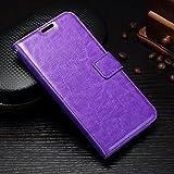 AXRXMA Glatte Oberfläche Einfarbig Perfekte Cut Out Flip PU Leder Wallet Case für Samsung Galaxy J3 / J5 / J7 2017 (Euro