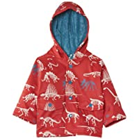 Hatley Baby Boys Infant Dino Bones Raincoat