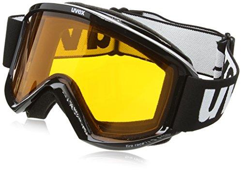 Uvex, Maschera da sci Uvex Fire Race S(1), Nero (Black), 1