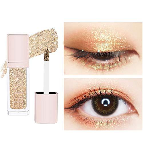 PNING New mode Flash Diamanten Perlglanz Glitzer Eyeliner Liquid Eyes Lidschatten Kann als Eyeliner- und Lidschattenstift verwendet werden langlebig Um die Form und Farbe Ihrer Augen