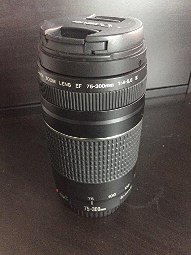 Canon EF 75-300mm f/4-5.6III Zoom Objektiv für Canon EOS 7D, 60D, EOS Rebel SL1, T1i, T2i, T3, T3i, T4i, T5i, XS, Xsi, XT, XTi Digital SLR Kameras + Micro Faser Reinigungstuch