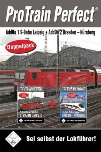 BlueSky Train Simulator - Pro Train Perfect Doppelpack S-Bahn Leipzig / Dresden - Nürnberg
